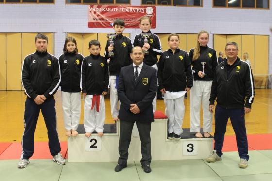 Yeovil Karate Club Squad