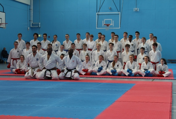 EKF Open Squad training session