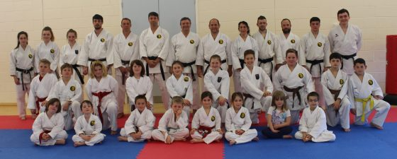 Yeovil Karate Club Group Photo 2